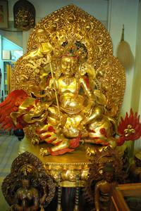 Vaishravana - the Buddhist God of Wealth
