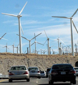 Driving by Windmills